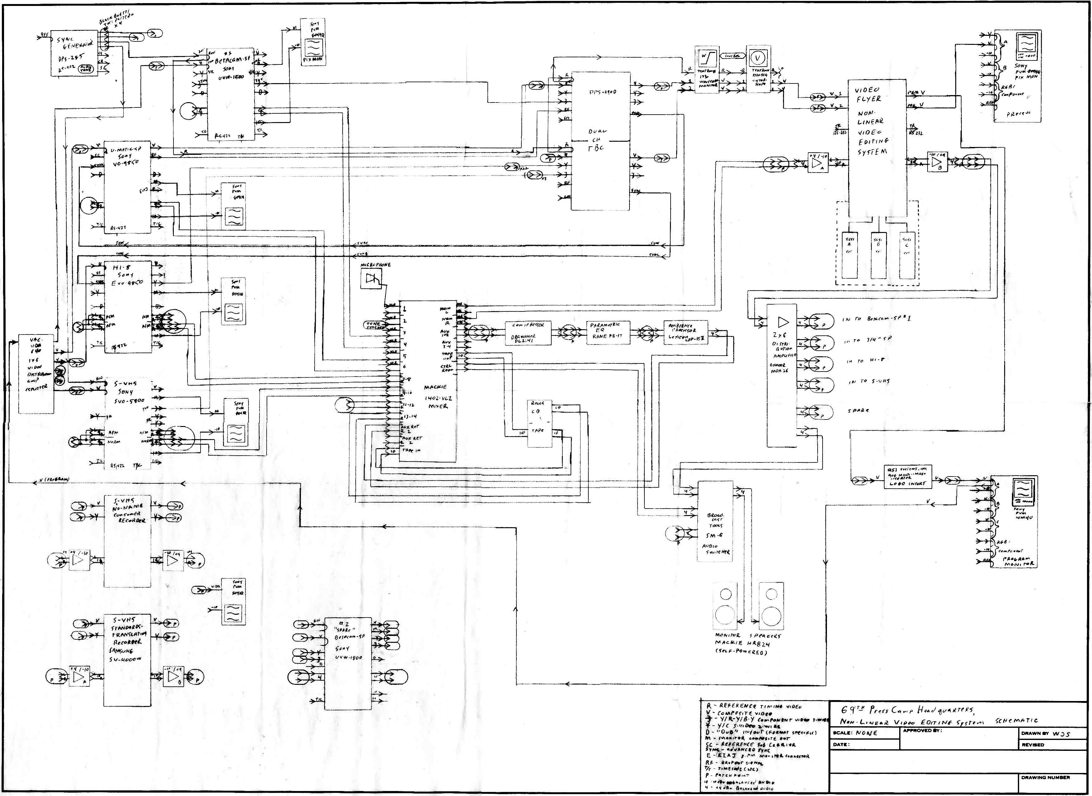 Schematic_flat  Channel Amplifier Subwoofer Wiring Diagram on